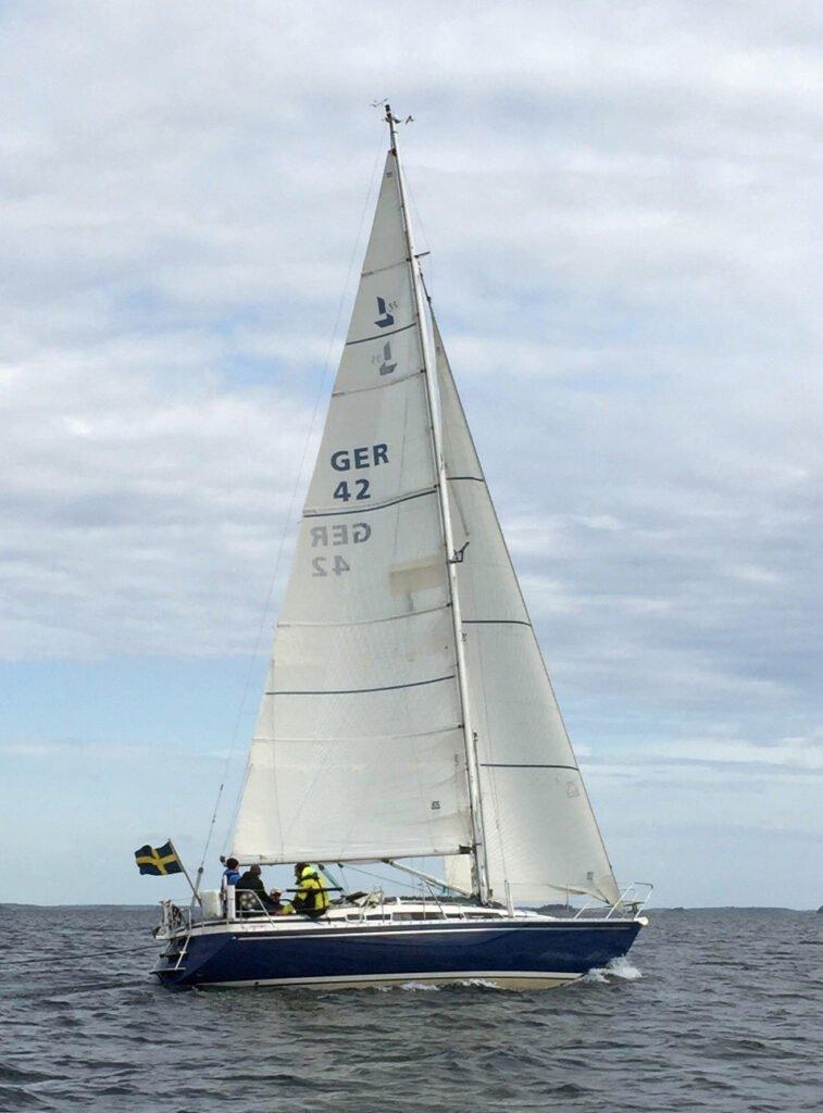 Linjett 35 sailing